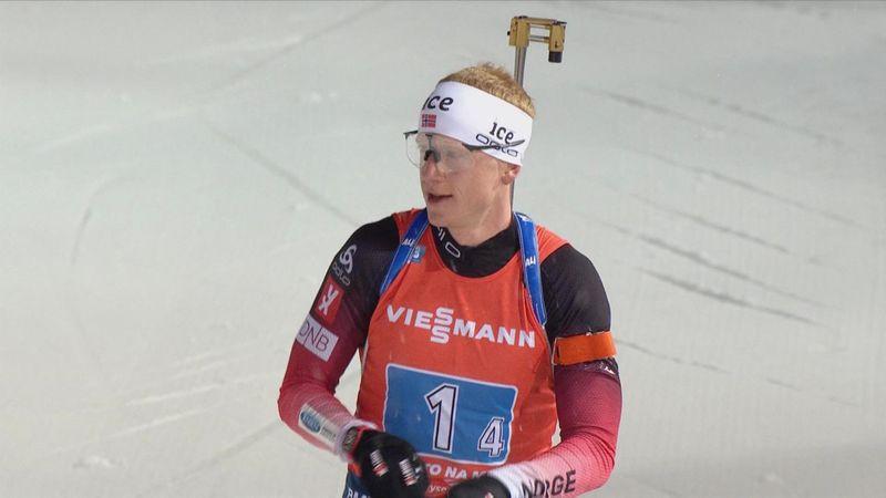 Norway wins men's Biathlon relay