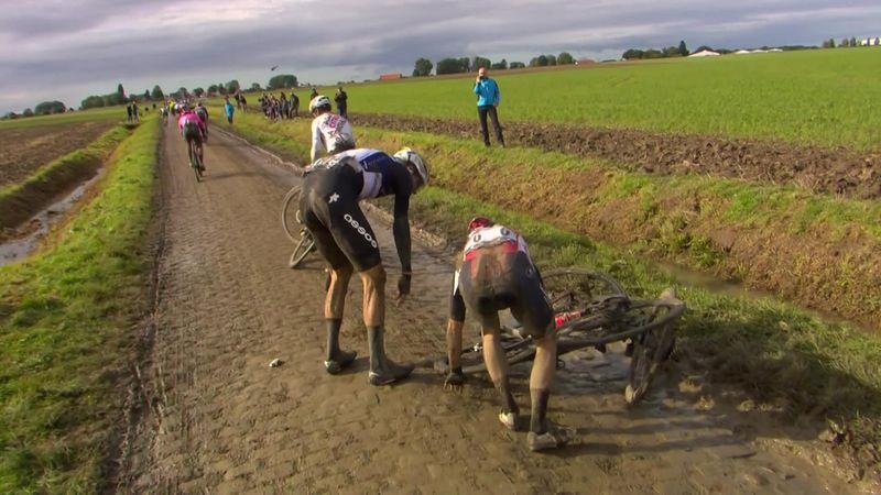 Continua la corsa ad eliminazione: Walscheid e Van Avermaet a terra