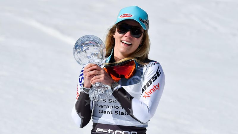 On This Day: Shiffrin breaks down in tears after finally lifting GS Crystal Globe