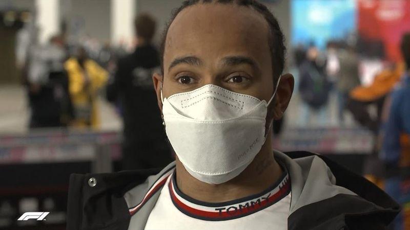 """Hamilton : """"J'aurais dû rester en piste, je suis tellement frustré"""""""