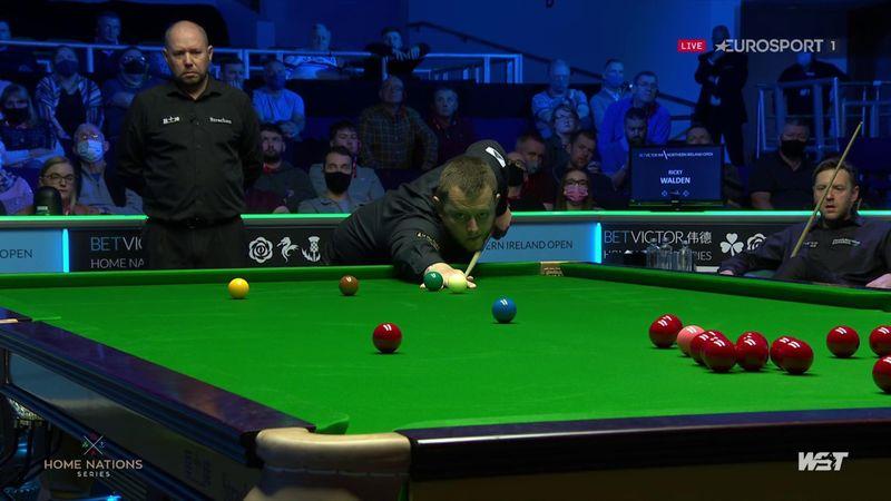 'Ah brilliant' - Allen sinks long red in semi-final