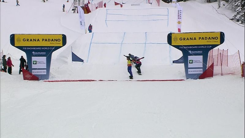 Snowboardcross | Glenn de Blois wint wereldbekerwedstrijd en gaat naar Olympische Spelen