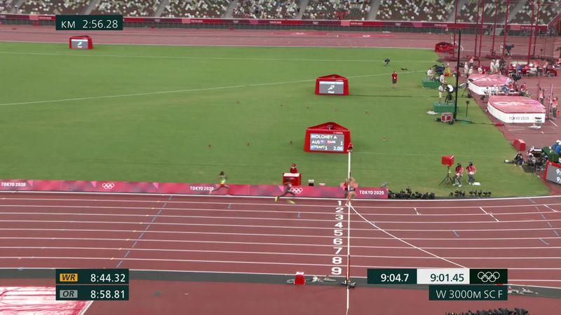 Olympic Games: Peruth Chetumai wins women's 3000m Steeplechase