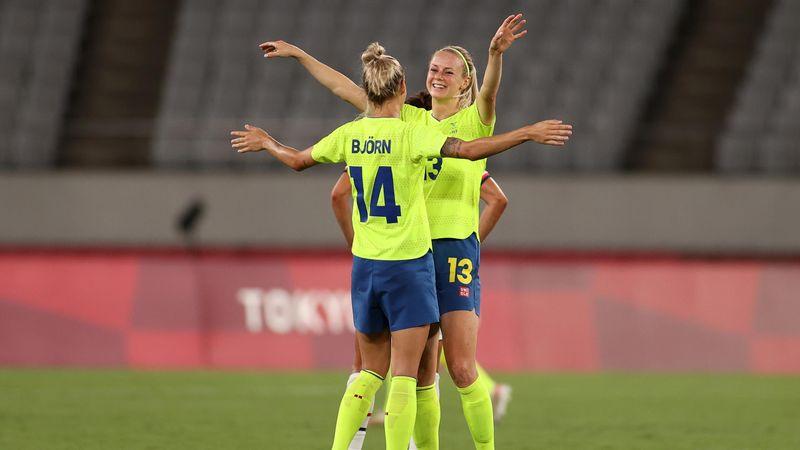 Токио-2020 - Sweden против USA - Футбол – Главные события Олимпиады