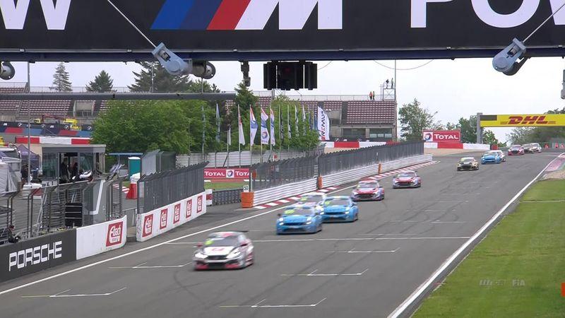 WTCR Nurburgring, gara 1: gli highlights