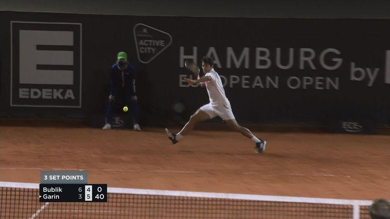 ATP Hamburg: Garin a reușit un forehand în cross care l-a impresionat și pe adversarul Bublik