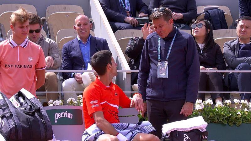 Zu viel Wind! Djokovic verlangt vergeblich Match-Unterbrechung