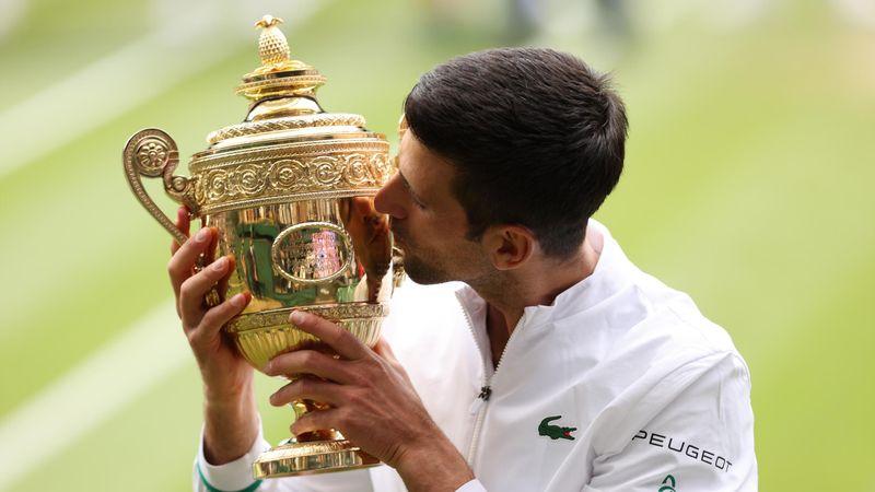 85 tornagyőzelem, 20 Grand Slam-trófea - Novak Djokovic lett Wimbledon 2021-es bajnoka