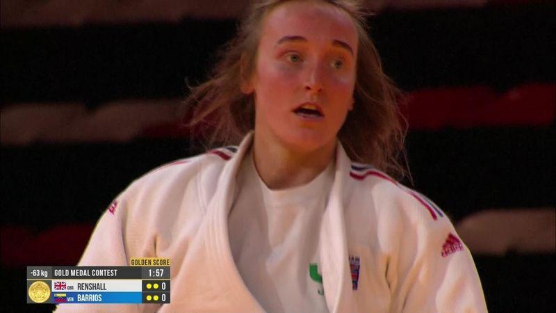 Grand Slam Antalya: Lucy Renshall vince nei -63kg