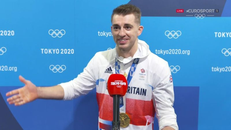'That's the most nervous I've ever been' - Whitlock on winning routine
