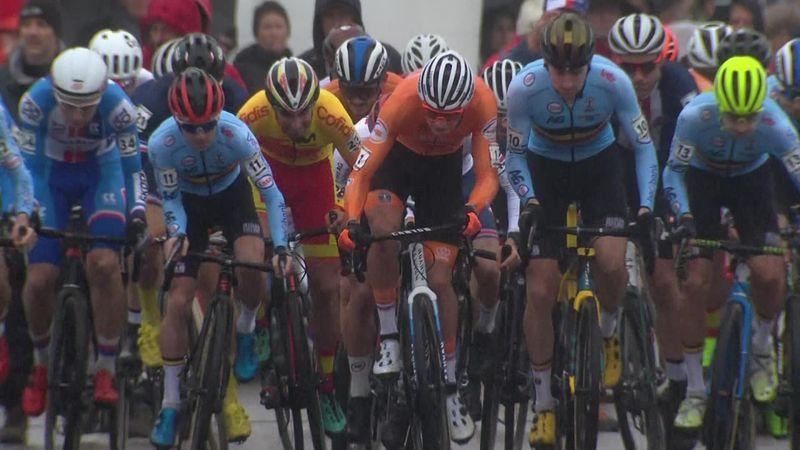 Highlights: Van der Poel powers to glory