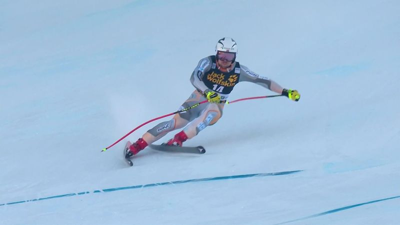 Aleksander Aamodt Kilde somehow edges out Dominik Paris in the Downhill