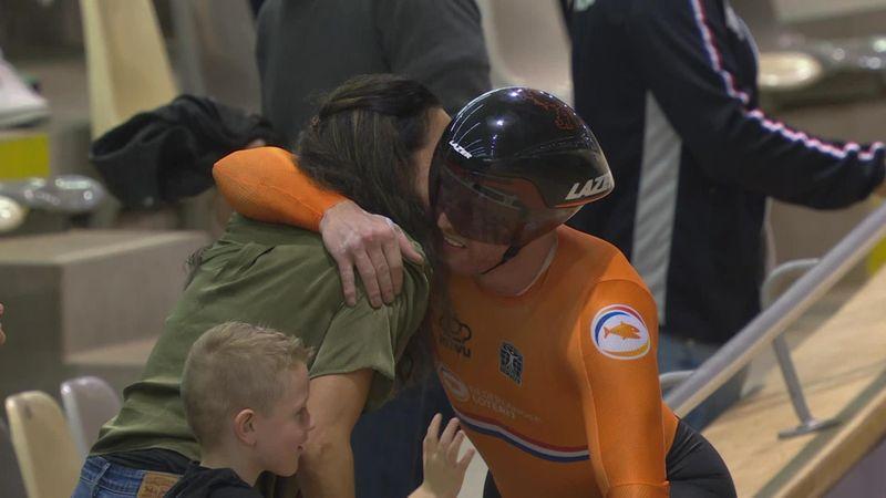Países Bajos sigue dominando y se lleva el oro en el esprint masculino