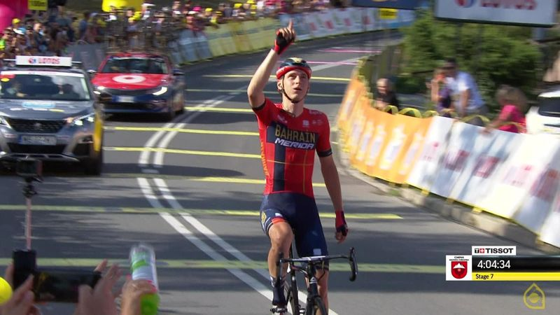 'Style of a champion' - Mohoric takes Stage 7 as Sivakov wins Tour of Poland