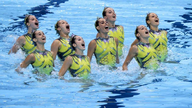 Natación artística   España, séptima tras la rutina libre en un nuevo triunfo del equipo ruso