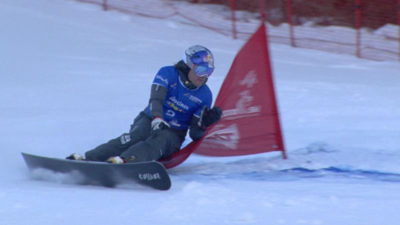 Snowboard: Dünya Kupası Carezza ayağı - Andrey Sobolov - Benjamin Karl