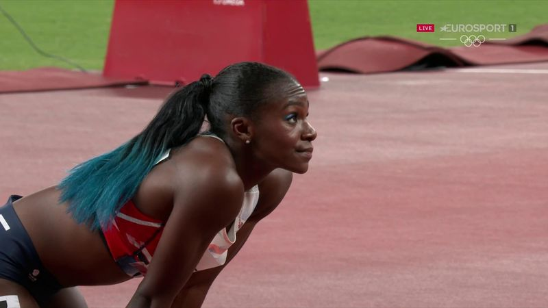 'Real struggle' - Nightmare for Asher-Smith as she fails to make 100m final