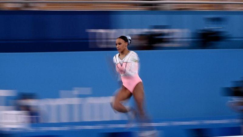 Rebeca Andrade, noua campioană olimpică, după două sărituri fantastice