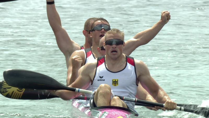 Tokyo 2020   Duitsland wint goud in kajakvier mannen