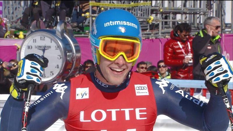 Christof Innerhofer finalmente sul podio: secondo in superG