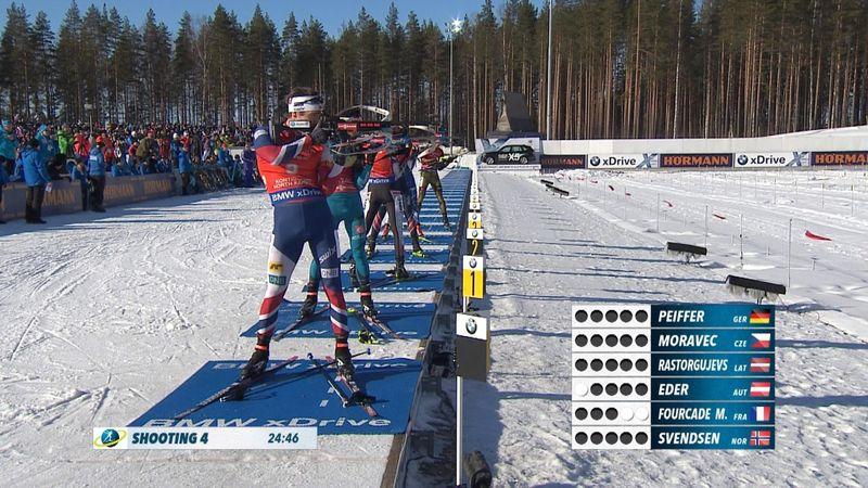 Biathlon HLTS : Pursuit Men