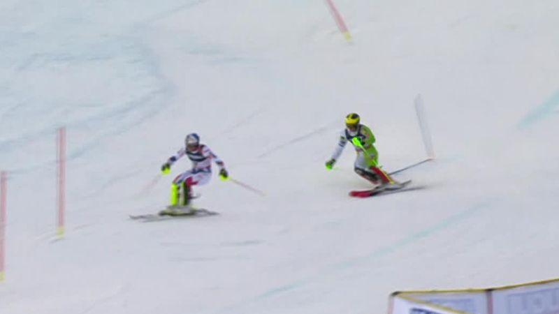 'Ghost race' between Pinturault and Hadalin