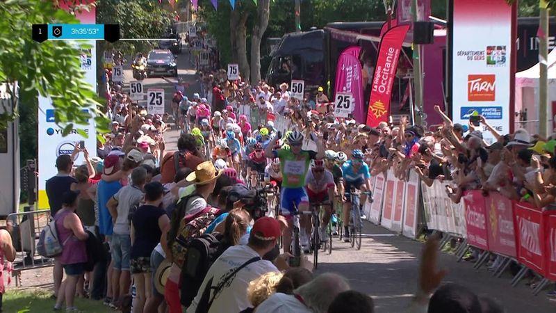 Demare sterkest i spurten – Valverde vant sammenlagt
