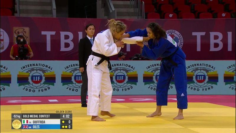Grande Odette Giuffrida: vince il Grand Slam di Tbilisi!