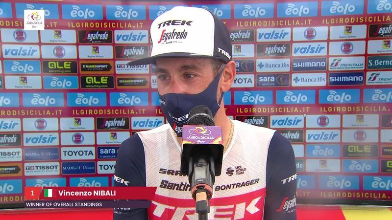 """Nibali : """"Je suis ravi de laisser une trace"""""""