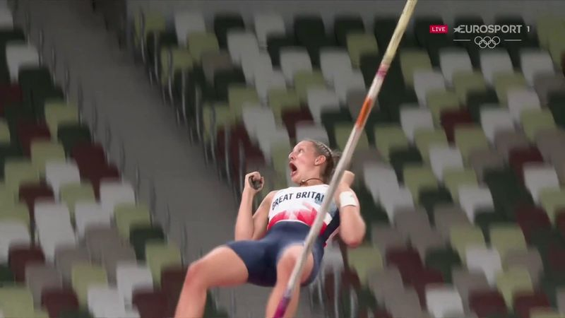 'Oh yes, wow!' - Bradshaw fired up with crucial clearance to take pole vault bronze