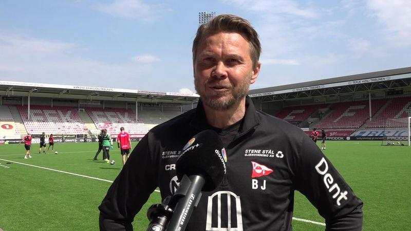 FFK-treneren «dagen før dagen»: – Skal nyte tilværelsen i OBOS-ligaen