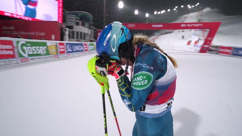 Flachau: Mickaela Shiffrin slalomda kazanıyor