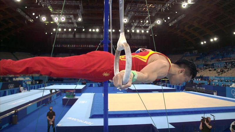 Artistic Gymnastic: Liu Yang wins gold medal in Men's ring - Tokio 2020 - Momentos destacados de los