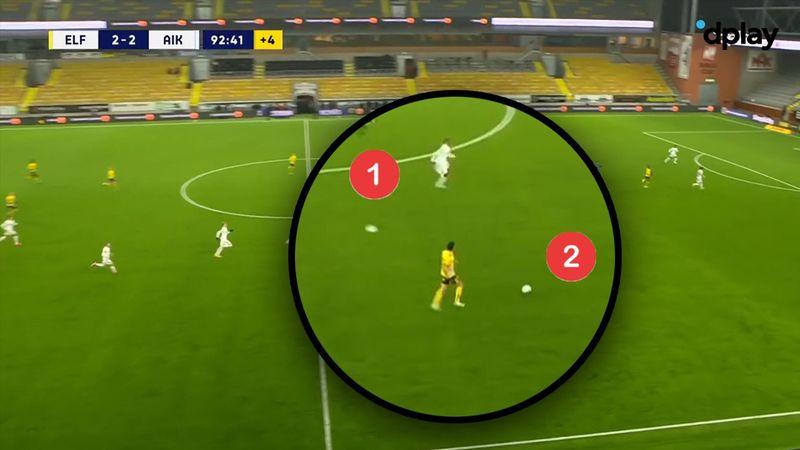 To bolde på banen?! - Seb Larsson forpurrer omstilling ved at bringe ekstra bold i spil