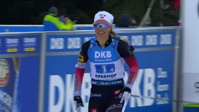Biatlon | Winst Noorse vrouwen op de estafette