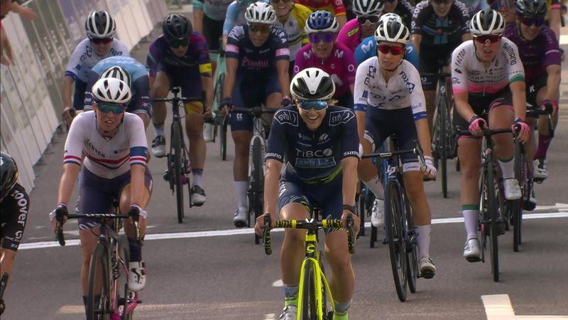 Kristen Faulkner se impone en la primera etapa del Tour de Noruega