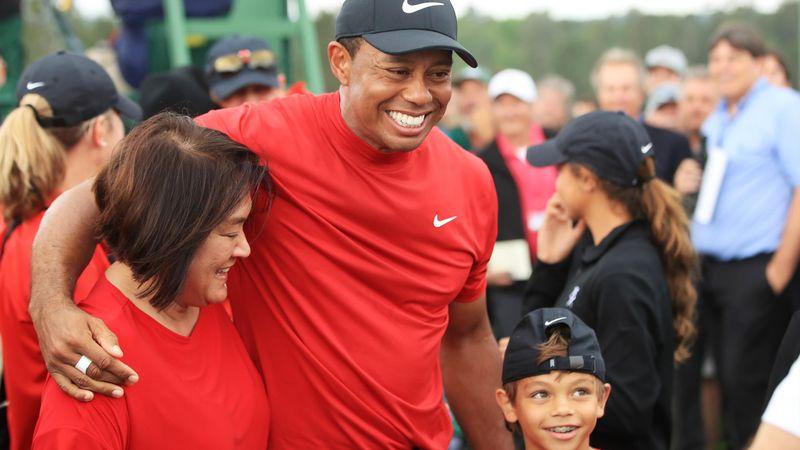 """Woods : """"Mes enfants pensaient seulement que le golf me faisait mal"""""""