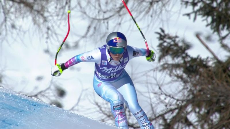 Make that No. 79: Vonn closes on Stenmark record with Cortina downhill gold
