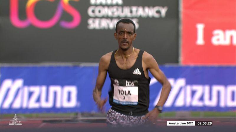 Zweitbeste Zeit des Jahres: Tola siegt bei Marathon in Amsterdam