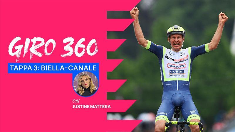 Giro 360, tappa 3: Colpo di Taco, van der Hoorn fuga e vittoria