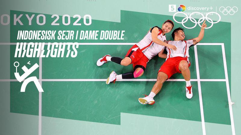 Highlights: Kæmpe indonesisk triumf i kvindernes double-finale