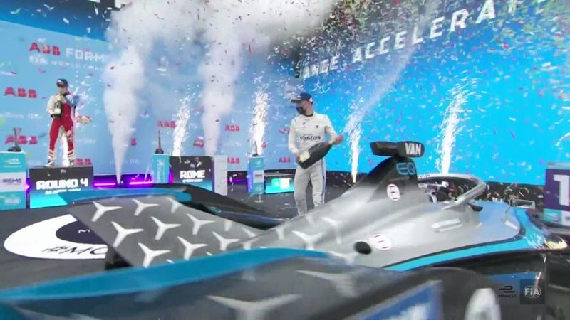 Vandoorne, Sims et Wehrlein ont savouré le podium