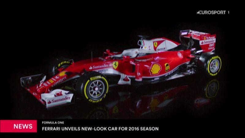 İşte Ferrari'nin yeni sezon aracı!