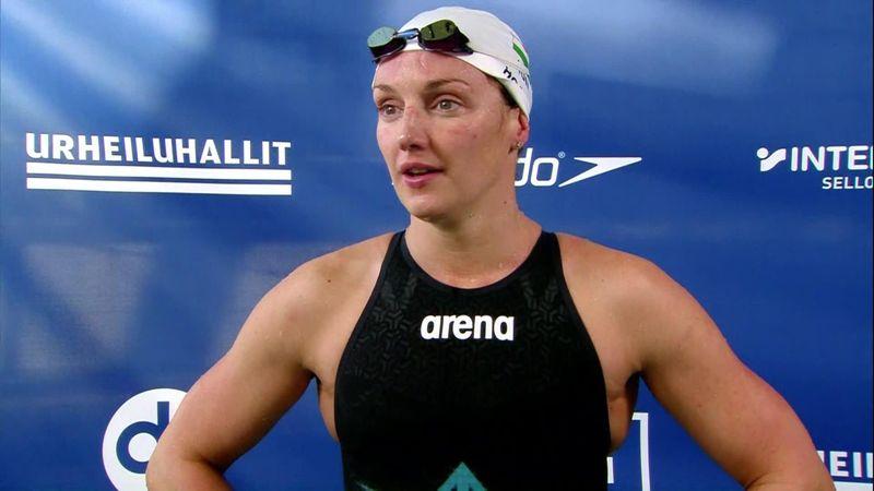Hosszú Katinka: Nagyon nehéz helyzet ez, de örülök hogy egyre jobban úszok