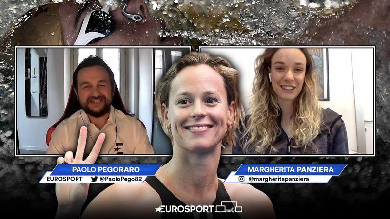 """Panziera: """"Che esempio vedere Federica Pellegrini allenarsi!"""""""