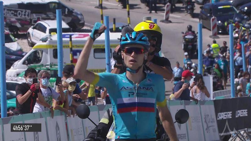 Aleksandr Vlasov takes victory at Mont Ventoux Denivele Challenge