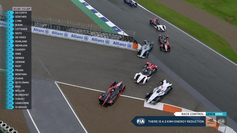 Гонщики столкнулись на крутом повороте – крэш в «Формуле E»