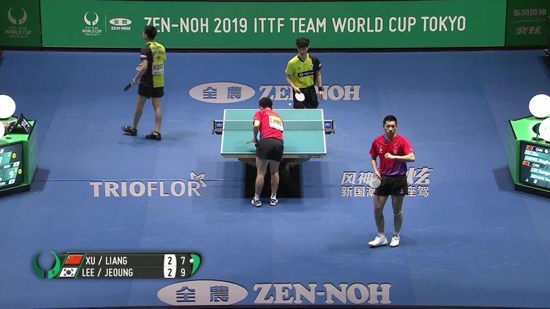 Эмоциональный и яркий финал командного ЧМ по настольному теннису – Китаю снова не было равных