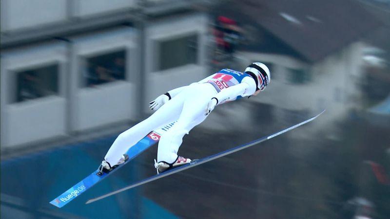 Vier schansen | Lindvik verrast en wint tweede wedstrijd op rij