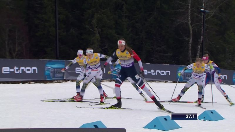 Dominio svedese nella sprint femminile: Sundling batte Nilsson, 14esima Greta Laurent
